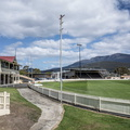 Cricket und Football Stadion
